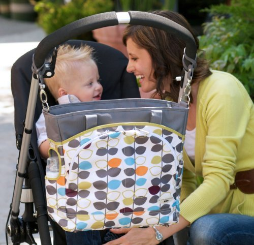 JJ Cole Mode Diaper Tote Bag, Mixed Leaf Kids, Infant, Child, Baby Products bébé, nourrisson, enfant, jouet