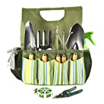 Plant Theatre Essential Garden Tool Bag – Includes Tools – Great Gardeners Gift