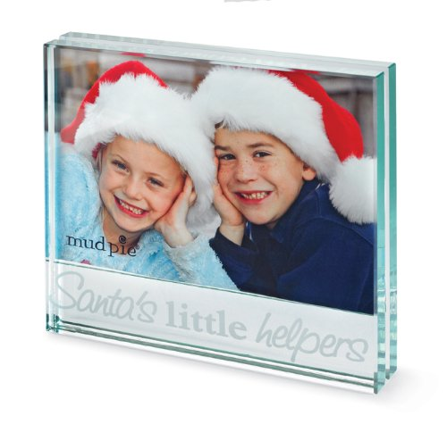 Mud Pie Santa's Little Helpers Picture Frame (Discontinued by Manufacturer) - 1