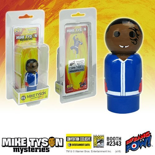 Mike Tyson Mysteries Mike Tyson Pin Mate Wooden - Con. Excl.