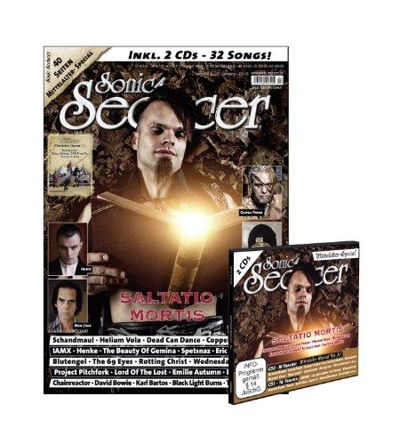 Sonic Seducer 03-13 mit Saltatio-Mortis-Titelstory + 40 Seiten Mittelalter- Special + 2 CDs, Bands: KMFDM, Helium Vola, Subway To Sally, Blutengel uvm.