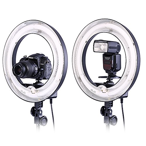Neewer-Camera-Photo-Video-14Outer-10Inner-400W-5500K-Photographic-Lamp-Ring-Fluorescent-Flash-Light