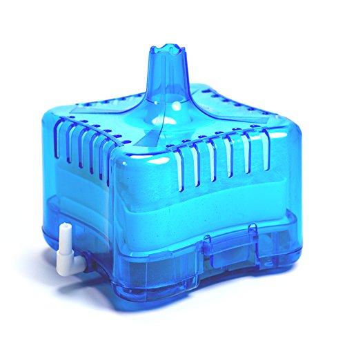 Aquarium Fish Tank Internal Air Driven Biochemical Sponge Corner Filter, Blue (Nitrogen Cycle For Fish Tank compare prices)