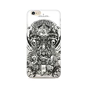 Mobicture Skull Abstract Premium Printed Case For Apple iPhone 6/6s