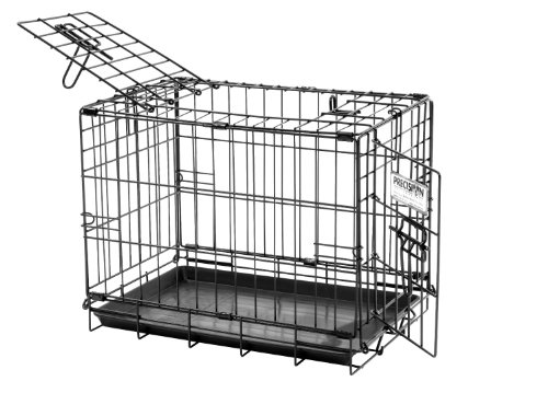 Precision Pet Provalu2 Dog Crate 19In front-1017637