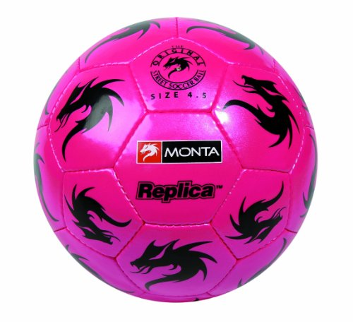 Monta REPLICA I Football - 4.5, Pink/Black