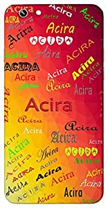 Acira (Brief Swift Fast) Name & Sign Printed All over customize & Personalized!! Protective back cover for your Smart Phone : Samsung Galaxy Note-3