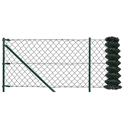 protec-Maschendrahtzaun-inkl-Einschlaghlsen-Komplettset-grn-verzinkt-15m-x-25m-Schweigitter-Volierendraht