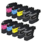 E-Z Ink Compatible Ink Cartridge Replacement for Brother LC-103(4 Black, 2 Cyan, 2 Magenta, 2 Yellow) 10 Pack Compatible With MFC-J4310DW MFC-J4410DW MFC-J4510DW MFC-J4610DW MFC-J4710DW MFC-J470DW MFC-J475DW MFC-J870DW MFC-J875DW DCP-J152W MFC-J245 MFC-J285DW