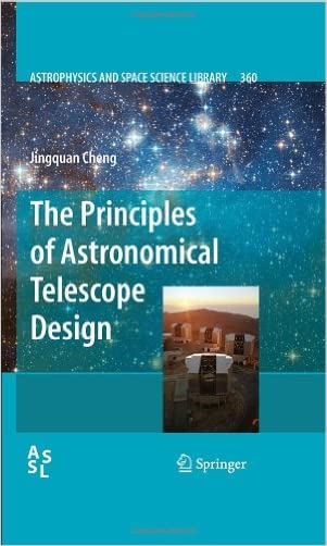 The Principles of Astronomical Telescope Design (Astrophysics and Space Science Library)