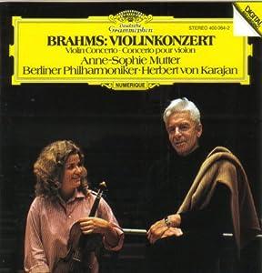 Brahms Violinkonzert Violin Concerto from Deutsche Grammophon