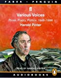 Various Voices: Prose, Poetry, Politics: 1948-1998 (Faber/penguin audiobook)