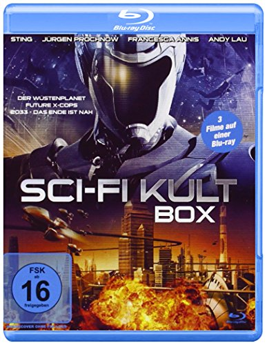Sci-Fi Kult Box [Blu-ray]