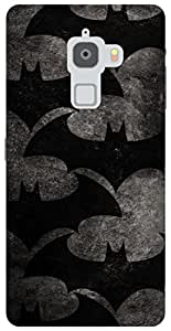The Racoon Grip Bat Pattern hard plastic printed back case / cover for Letv Le Max