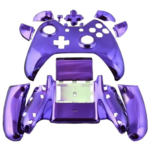 chorme-finished-purple-custom-wireless-controller-shell-replacement-full-assembly-housing-for-xbox-o