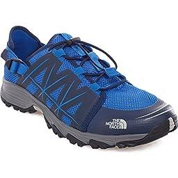 North Face Litewave Amphibious Watersport Shoes UK 9.5 Blue Quartz Cosmic Blue
