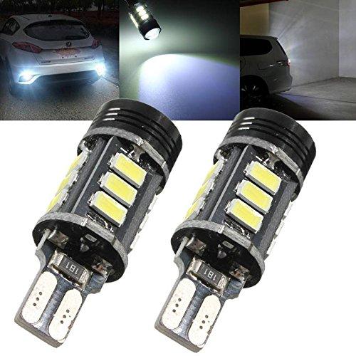 AUDEW-2-x-T15-W16W-luce-di-retromarcia-Lampadina-auto-Reversing-light-frenatura-15-LED-5630-SMD-COB-PANNOCCHIA-LED-16W-400lm-12V-DC-6500K-Bianco-puro