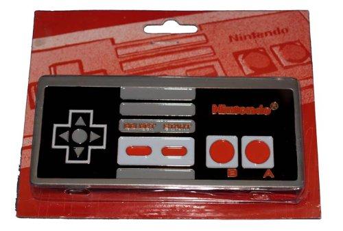 Z203 Nintendo Controller Belt Buckle Video Game
