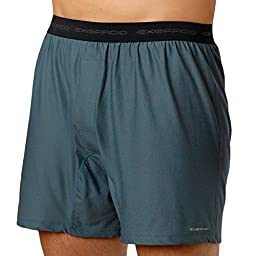 ExOfficio Men\'s Give-N-Go Boxer,Charcoal,Large