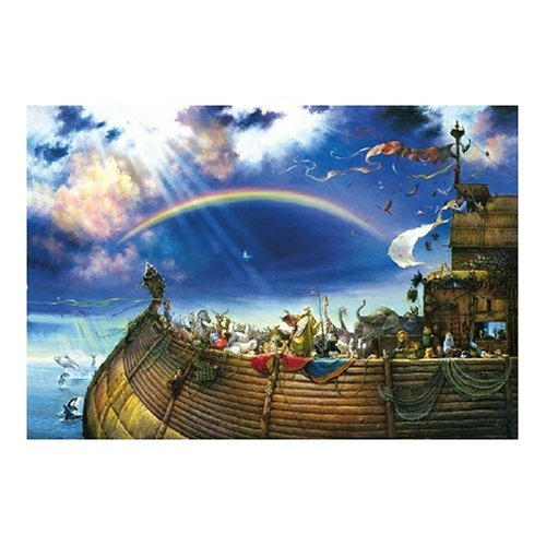 sunsout noahs ark jigsaw puzzle 6000 pieces ebay. Black Bedroom Furniture Sets. Home Design Ideas