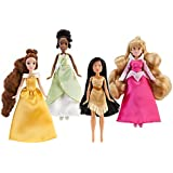 Mini Disney Princess Doll Set #1 - 4-Pc.