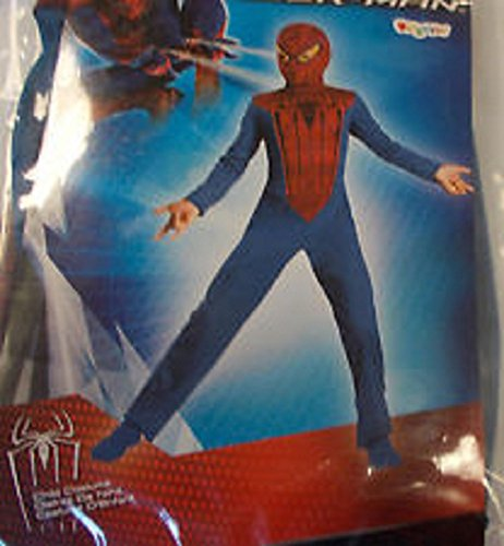 Spider-Man Movie Basic Costume Boys Small 4-6 (1 per package)