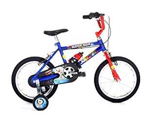 "Raleigh 14"" Moonman Boys Bike (Old Version)"