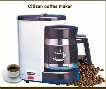 Citizen 400 Watt, 220V Coffee Maker (White) for use in INDIA