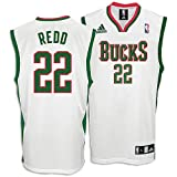 Bucks NBA Men's Replica Home Jersey ( sz. M, White : Redd, Michael : Bucks ) Picture