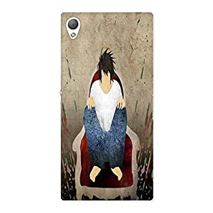 Ajay Enterprises Sitting Blood Back Case Cover for Sony Xperia Z3