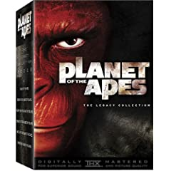 Planet of the Apes - The Legacy Collection (Planet of the Apes [1968] / Beneath the / Escape from the / Conquest of the / Battle for the)