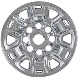 OxGord 1pc Silver Hubcap, Nissan NPV Replica, 17″