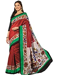 AASRI Women Party Wear Printed Bhagalpuri Art Silk Saree 11940