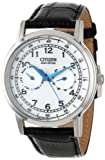 Citizen Mens AO9000-06B Eco-Drive Stainless Steel Day-Date Casual Watch