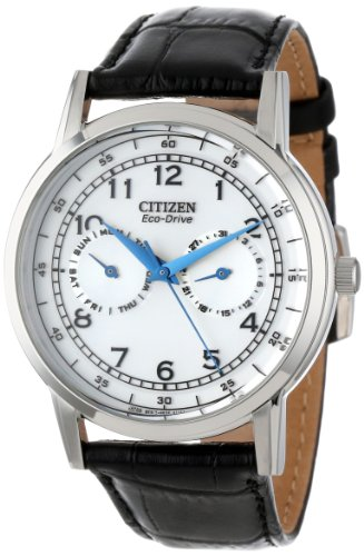 Citizen Mens AO9000-06B Eco-Drive Stainless Steel Day-Date Watch