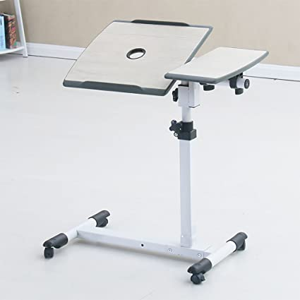 Mesa de cabecera Giratoria Mobile Lift Notebook Computer Desk ( Color : B )