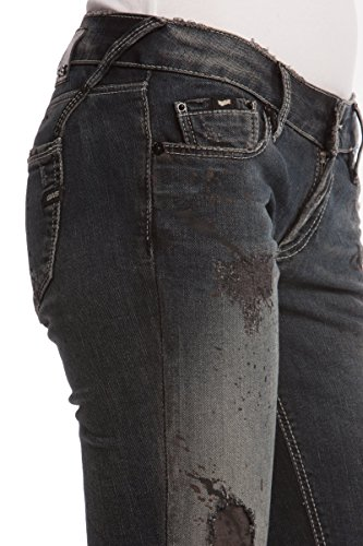 GAS BRITTY W666 Pantaloni donna Jeans denim 5 tasche ultra aderenti