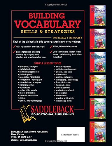 Download building vocabulary skills and strategies level 5 for Construction vocabulary