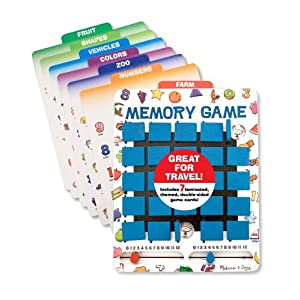 Click to buy Best Travel Games for Kids: Travel Memory Game from Amazon!