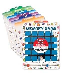 Melissa & Doug Travel Memory Game