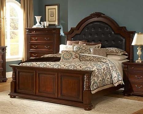 Homelegance Silas Bed - Bonded Leather 2117-1