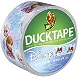 Duck Brand 283420 Disney-Licensed Frozen featuring Anna and Elsa Duct Tape, 1.88 Inches x 10 Yards, Single Roll