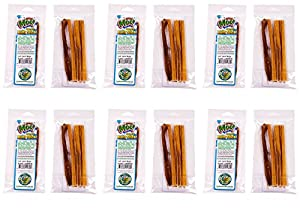 free range moo 6 inch junior bully sticks 48 pack 12 x 4 packs pet supplies. Black Bedroom Furniture Sets. Home Design Ideas