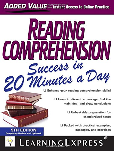 Reading Comprehension Success in 20 Minutes a Day (Llc Learning Express compare prices)