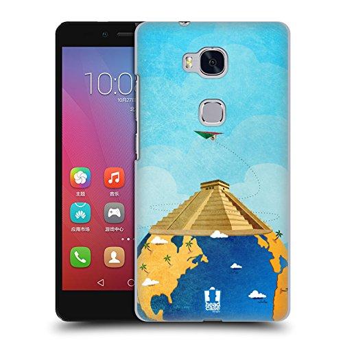 Head Case Designs チチェン・イッツァ 世界旅行 ハードバックケース Huawei Honor 5X / X5