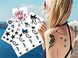 LILY20 impermeable no tóxico tatuaje temporal