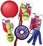 KONG Summer Fun Pack Dog Combo, Dog Toys, Medium (Colors Vary)