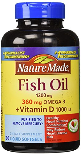 Top best 5 fish oil vitamins for sale 2016 product for Fish oil with vitamin d