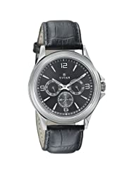 Titan Neo Black Dial Analog Watch For Men-1698SL02