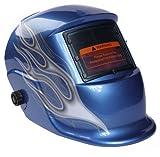アルゴンアーク 自動フィルター溶接マスク ブルー